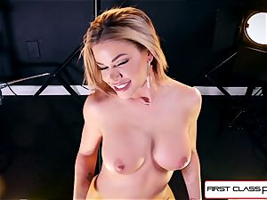witness Jessa Rhodes taking a ample rod down her mouth