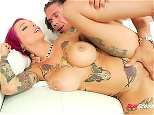 Anna Bell Peaks rectal fuck-fest Session With Mick Blue