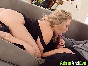 fantastic couple Mia Malkova and Danny Mountain fucking