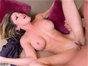 Kaila Paige get her bait hooked deeply rock hard