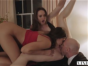 VIXEN Tori dark-hued And Adriana Chechik In The finest 3 way Ever Made